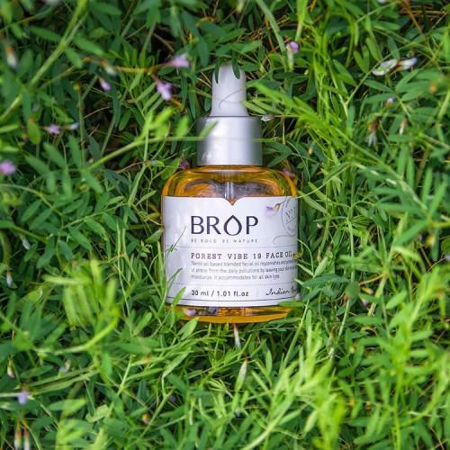"""Натуральное масло с нежным ароматом жасмина BROP """"FOREST VIBE 19 FACE OIL"""", 30 мл"""