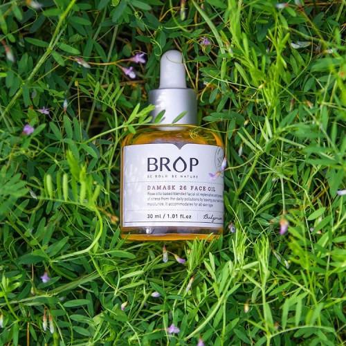 """Натуральное масло для лица на основе дамасской розы BROP """"DAMASK 26 FACE OIL"""", 30 мл"""