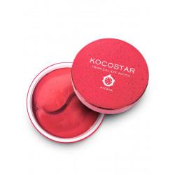 Гидрогелевые патчи для глаз Тропические фрукты Kocostar Tropicla Eye Patch (Pitaya)  (60 патчей/30 пар, Питахайя), 90г
