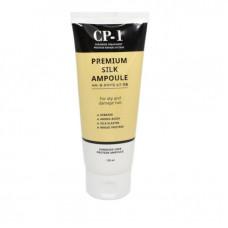Несмываемая сыворотка д/волос с протеинами шелка Esthetic House CP-1 Premium Silk Ampoule, 150мл