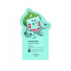 Маска для лица с зеленым чаем Tony Moly Pocketmon Isanghessi Sheet