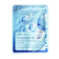 """Тканевая маска с экстрактом гиалуроновой кислоты """"Pureness 100 Hyaluronic Acid Mask Sheet"""", 21мл"""