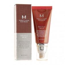 Идеальный ББ Крем Missha M Perfect Cover BB Cream No.21 SPF42 PA+++, 50 мл