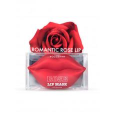 Гидрогелевые патчи для губ Kocostar Rose Lip Mask Jar (20 патчей, Роза), 50г