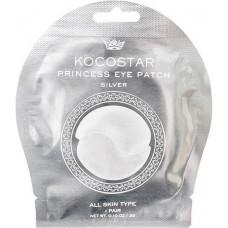 Гидрогелевые патчи для глаз (2 патча/1 пара), 3г (Серебряные) / Kocostar Princess Eye Patch (Silver)