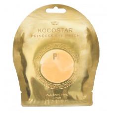 Гидрогелевые патчи для глаз Kocostar Princess Eye Patch Gold ( 2 патчей/1 пар), 3 г