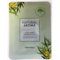 Маска для лица Tony Moly Natural Aroma Eucalyptus Oil Mask, 21 гр
