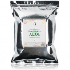 Маска альгинатная с экстрактом алоэ успокаивающая (пакет) Anskin Aloe Modeling Mask / Refil, 1 кг