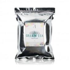 Маска альгинатная с экстрактом зеленого чая успокаивающая (пакет) Anskin Grean Tea Modeling/Refill