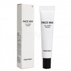 Матирующий праймер Tony Moly Face Mix Oil Paper Primer, 25 г.