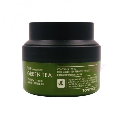 Крем с экстрактом зеленого чая Tony Moly THE CHOK CHOK GREEN TEA WATERY CREAM