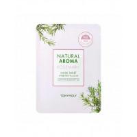 Маска для лица Tony Moly Natural Aroma Rosemary Oil Mask, 21 гр