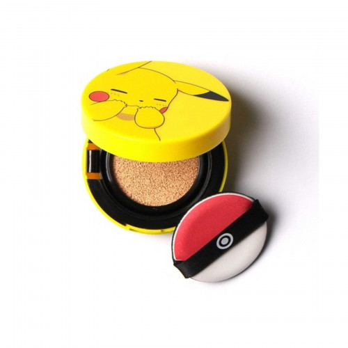 Мини кушон Tony Moly pokemon- pikachu mini cover cushion, #1
