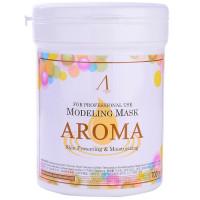 Маска альгинатная антивозрастная питательная (банка) Anskin Aroma Modeling Mask / container, 700мл