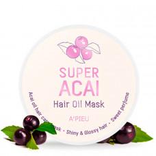 Маска-масло для волос с асаи A'PIEU Super Acai Hair Oil Mask