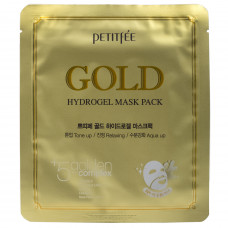 Гидрогелевая маска для лица с золотом Petitfee Gold Hydrogel Eye Patch, 32гр