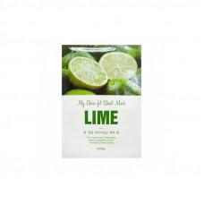 Маска для лица A'Pieu Skin-Fit Sheet Mask Lime