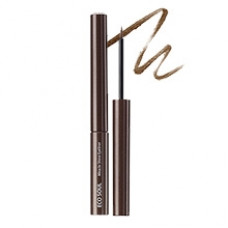 Подводка для глаз сияющая The Saem EYE  Eco Soul Miracle Shine Eyeliner BR01 Deep Brown, 2,7мл