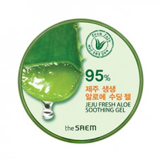 СМ Aloe Гель с алоэ универсальный увлажняющий 300мл Jeju Fresh Aloe Soothing Gel 99%