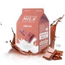 Тканевая маска с молоком A'PIEU Chocolate Milk One Pack