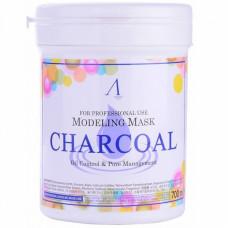 Маска альгинатная для жир. кожи с расшир. порами Anskin Charcoal Modeling Mask /container  (банка), 700мл