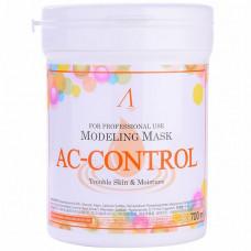 Маска альгинатная для проблем. кожи с акне (банка) Anskin AC Control Modeling Mask /container, 700мл