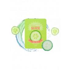 Маска-патч для лица с огурцом A'PIEU Cucumber Slice Sheet Mask, 6 патчей