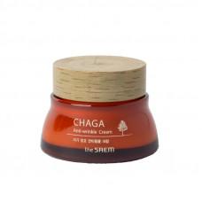 Крем для лица антивозрастной The Saem CHAGA Anti-wrinkle Cream, 60мл