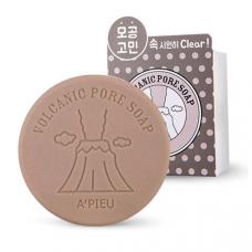 Мыло для расширенных пор на вулканической основе A'PIEU Volcanic Pore Soap