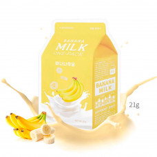 Тканевая маска с молоком A'PIEU Banana Milk One Pack