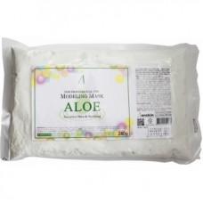 Маска альгинатная с экстрактом алоэ успокаивающая (пакет) Anskin  Aloe Modeling Mask / Refill, 240г