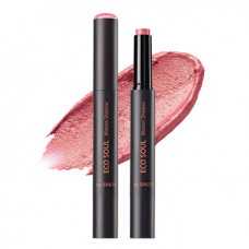 Тени для век гелевые 06 The Saem EYE Eco Soul Motion Shadow 06 Cherry, 2гр