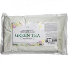 Маска альгинатная с экстрактом зеленого чая успокаивающая (пакет) Anskin Grean Tea Modeling/Refill,  240гр