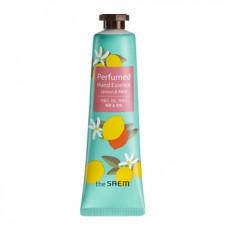Крем-эссенция для рук парфюмированный (NEW) The Saem Perfumed Hand Essence -Lemon Mint-