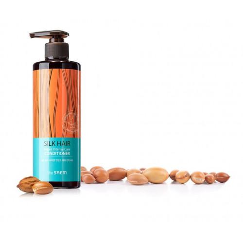 Кондиционер для волос с арганой The Saem SILK HAIR Argan Intense Care Conditioner