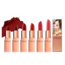 """Кремовая помада для губ Style71 Jewelry Rouge Cream Lipstick"""", No.S4"""