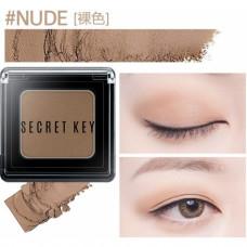 Тени для век моно Secret Key Fitting Forever Single Shadow_#Nude(Skin Beige), 3,8гр
