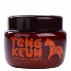 Маска питат. для лица с лошадиным жиром Baviphat Urban Dollkiss Tongkeun Golden Horse Oil Pack