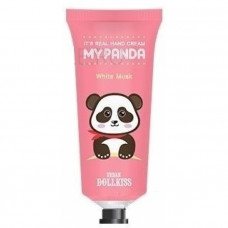 Крем для рук Baviphat Urban Dollkiss It's Real My Panda Hand Cream #01 WHITE MUSK 30гр