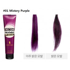 Тритмент для волос с фиолетовым оттенком Etude House Two Tone Treatment Hair Color, 150 мл