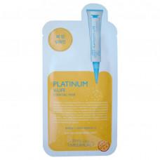 Маска для лица с эффектом лифтинга на основе экстракта граната, наноплатины, трегалозы Mediheal Platinum V-Life, 25мл