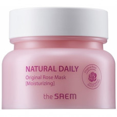 Маска для лица с лепестками роз The Saem Natural Daily Original Rose Mask, 100г