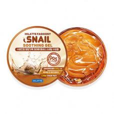 Гель универсальный увлажняющий Milatte Fashiony Snail Soothing Gel, 300мл