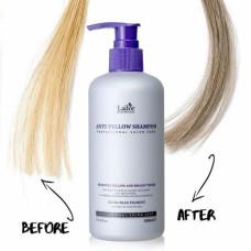 Шампунь оттеночный против желтизны волос Lador Anti Yellow Shampoo, 300мл