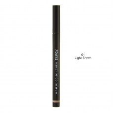 Подводка для бровей Tony Moly 7Days Perfect Tattoo Eye Brow 01, Light Brown