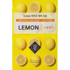 Маска с лимоном Etude House 0.2 Therapy Air Mask #Lemon