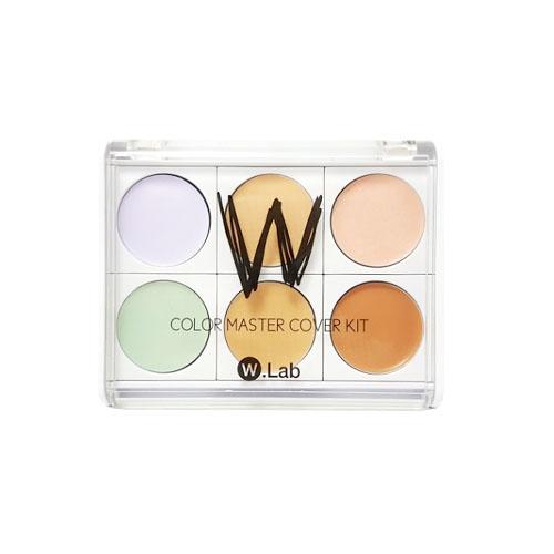 Водостойкая палетка для макияжа лица W.Lab COLOR MASTER COVER KIT