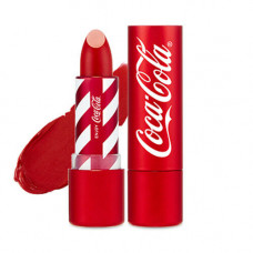 Помада для губ The Face Shop COCA-COLA LIPSTICK, 3.5 г. - 04 цвет колы