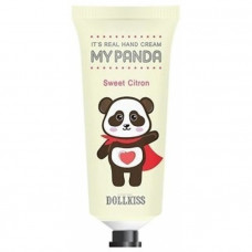 Крем для рук Baviphat Urban Dollkiss It's Real My Panda Hand Cream #03 SWEET CITRON 30гр