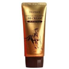 Крем ББ с гиалуроновой кислотой и лошадиным жиром DEOPROCE HORSE OIL HYALURONE BB cream #23